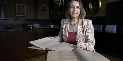 Historica Marianne Kruijswijk. Foto: Archief/ Duncan Wijting
