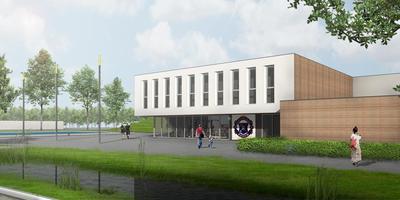 Het ontwerp van de nieuwe MFA in Bedum is van de Bedumer architect Niels Feddema.
