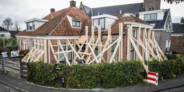 Een woning aan de Grotestraat in Bedum. Foto: Archief Huisman Media