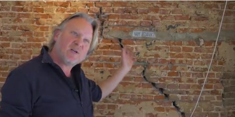 Gerjan Kelder in het Youtube-filmpje van de Partij voor de Dieren.