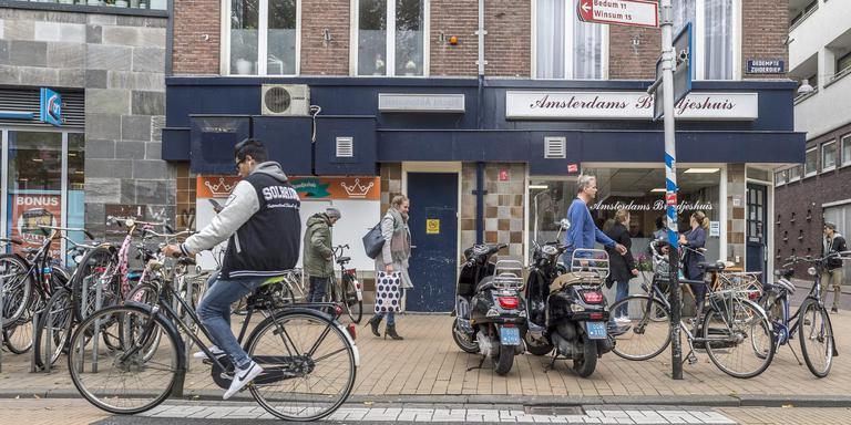 D66, PvdA en GroenLinks pleiten in een motie voor het verbieden van scooters op het fietspad