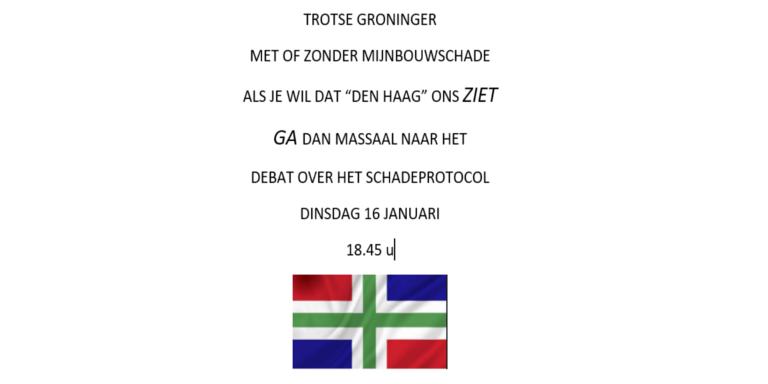De oproep van Groninger Yfke Eijgelaar.