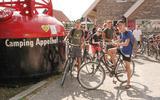 Camping Appelhof is populair bij jongeren.