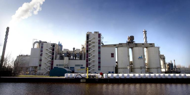 De fabriek van Nedmag in Veendam. Foto: Archief Harry Tielman