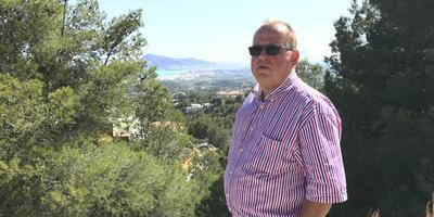 De failliete Henk Oosterhof in het Spaanse Altea. Foto: Archief DvhN/Ina Reitzema