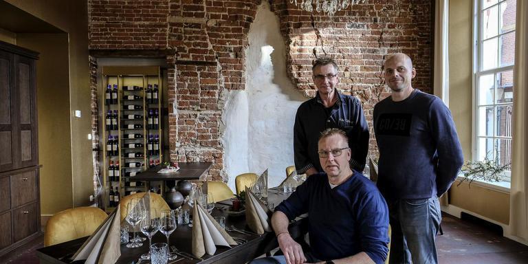 De nieuwe uitbaters van restaurant De Basiliek. Foto Jan Zeeman
