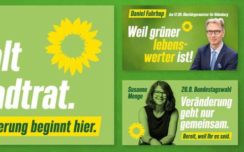 GroenLinks en DWARS Groningen gaan hun Duitse zusterpartij Die Grünen helpen.