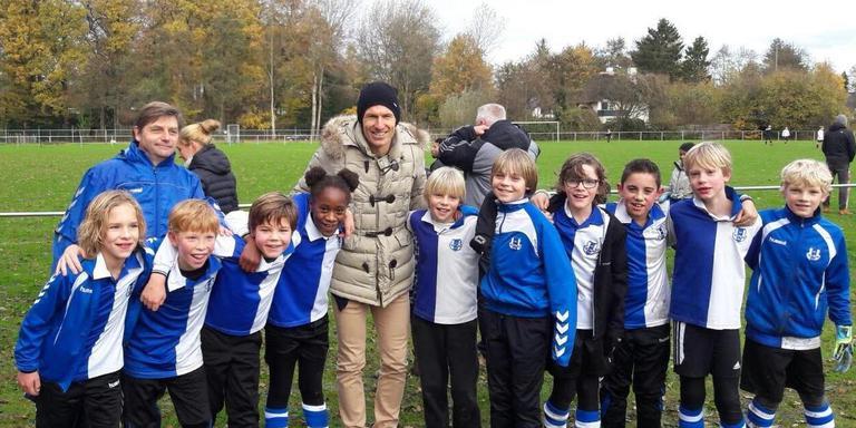 Arjen Robben en Helpman E4. Foto: Martine Veenhuis