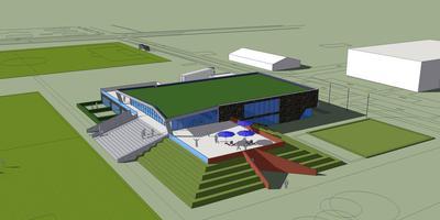 Het voorlopig ontwerp is afkomstig van het Bedumer architectenbureau Niels Feddema en het bureau Van der Plas uit Groningen.