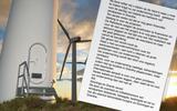 Extremisten windmolens voeren druk op: dreigbrief aan hoofdaannemer A.Hak