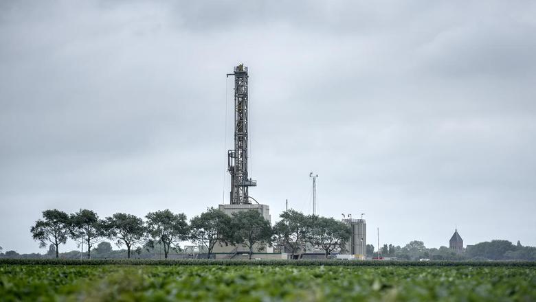 De NAM-locatie bij Zeerijp. De aardbevingen die het olie- en gasbedrijf veroorzaakt, worden al jaren verkeerd geregistreerd door het KNMI. Foto: Kees van de Veen