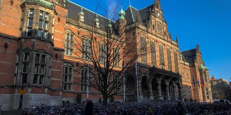 Academiegebouw Rijksuniversiteit Groningen Broerplein. Foto DvhN Frits Poelman