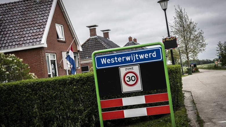 Het epicentrum van de aardbeving lag bij Wetserwijtwerd.