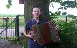 Christiaan Bodewitz is verslingerd aan zijn instrument.