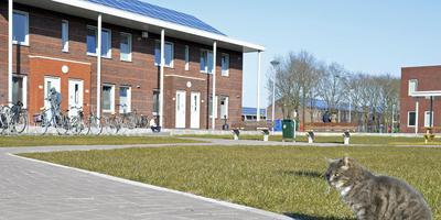 Het asielcentrum in Ter Apel is de locatie waar de meeste asielzoekers en dus ook de statushouders Nederland binnen komen.