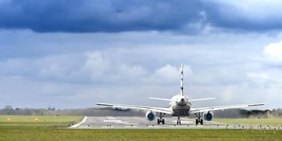 Landing op Groningen Airport Eelde. Foto: Duncan Wijting