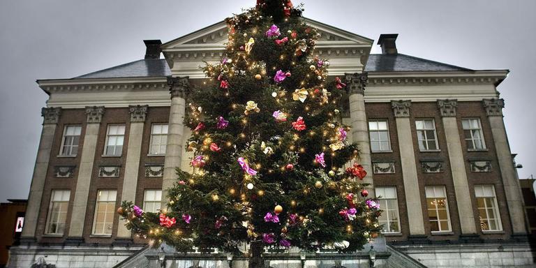 kinderen programmeren verlichting kerstboom