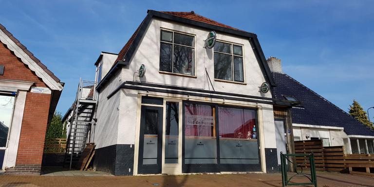 Het cafe in Siddeburen. Foto: 112Gr/Mark Heikens