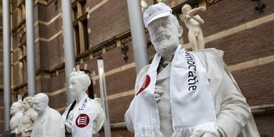 Forum voor Democratie krijgt in Groningen maar weinig vaste voet aan de grond. Foto: Archief ANP