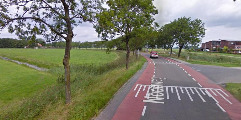 De Zijlvesterweg tussen Hoogkerk en Slaperstil. Foto: GoogleMaps