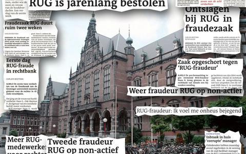 Drie jaar celstraf voor RuG-fraudeur Hans G.