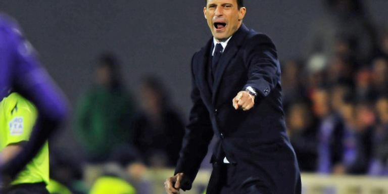 Coach Allegri verlengt bij Juventus tot 2018