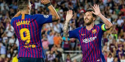 Messi leidt FC Barcelona langs PSV