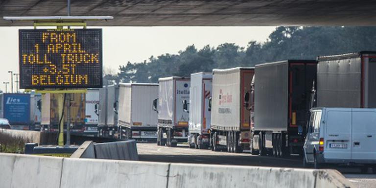 Belgische wegen opnieuw geblokkeerd