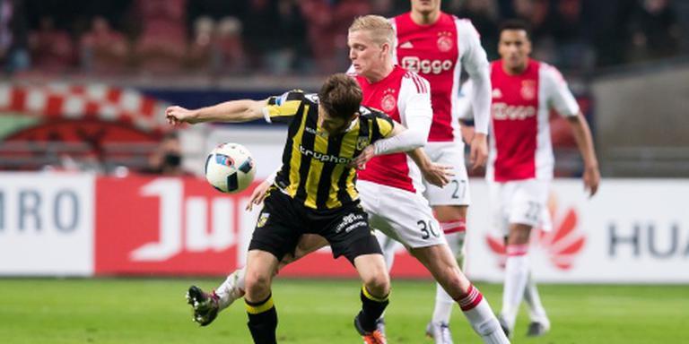 Van de Beek definitief bij selectie Ajax