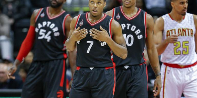Toronto Raptors stoomt op in NBA