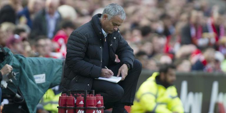 Pijnlijk gelijkspel Manchester United