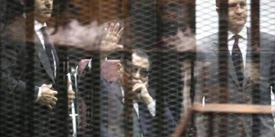 Zonen Mubarak op borgtocht vrij