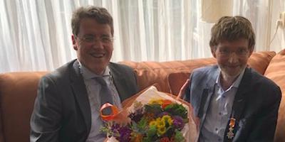 Eric van Oosterhout en Anton Stulp.