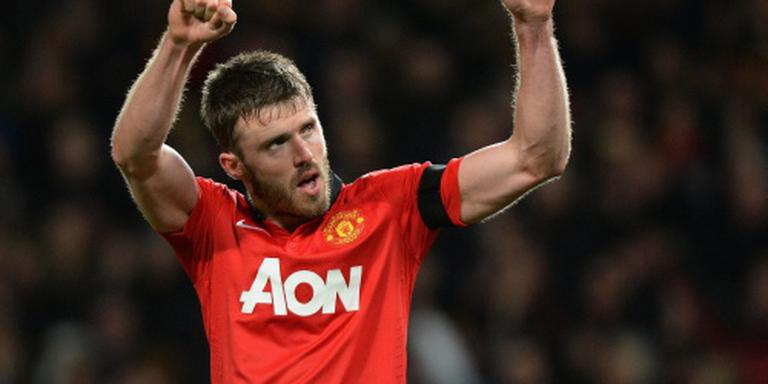 Carrick verlengt bij Manchester United