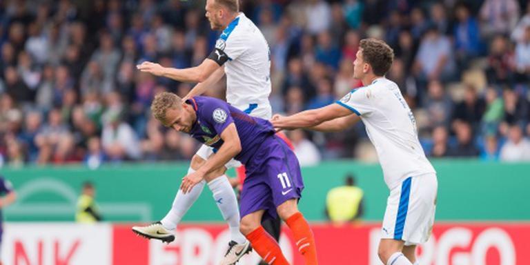 Werder Bremen blameert zich bij derdeklasser