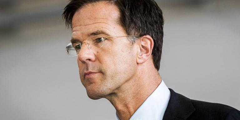 Rutte wil praten met oppositie over referendum