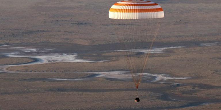 Bemanning ISS heeft weer grond onder voeten