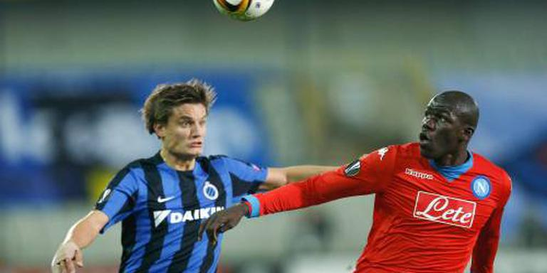 Vier doelpunten Vossen bij Club Brugge