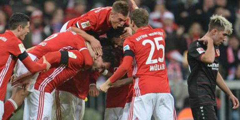 Bayern München wint met invaller Robben
