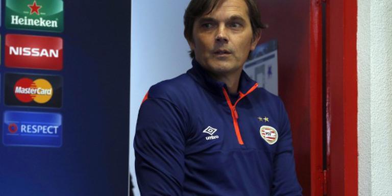 Cocu: PSV-Ajax niet allesbeslissend