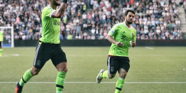 Derde competitiezege op rij voor Ajax