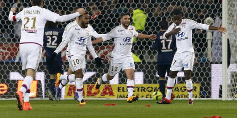 Olympique Lyon op weg naar Champions League