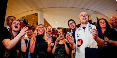 Forum grootste partij, evenaart VVD in senaat
