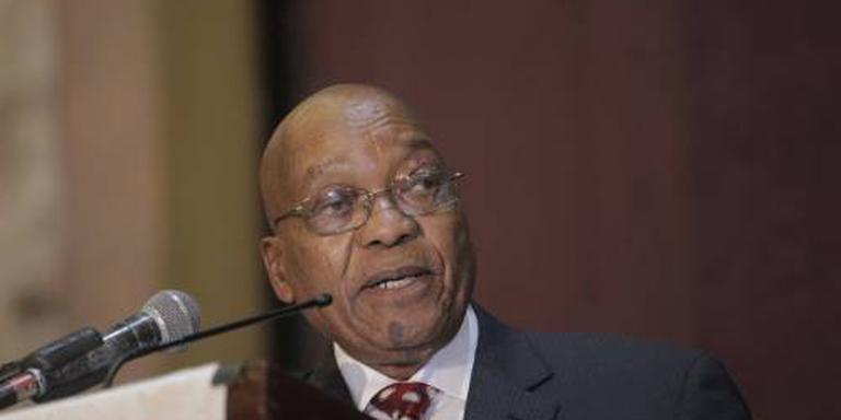 Jacob Zuma blijft president van Zuid-Afrika