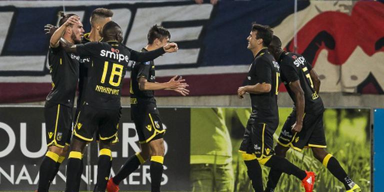 Vitesse geeft Willem II lesje in scoren