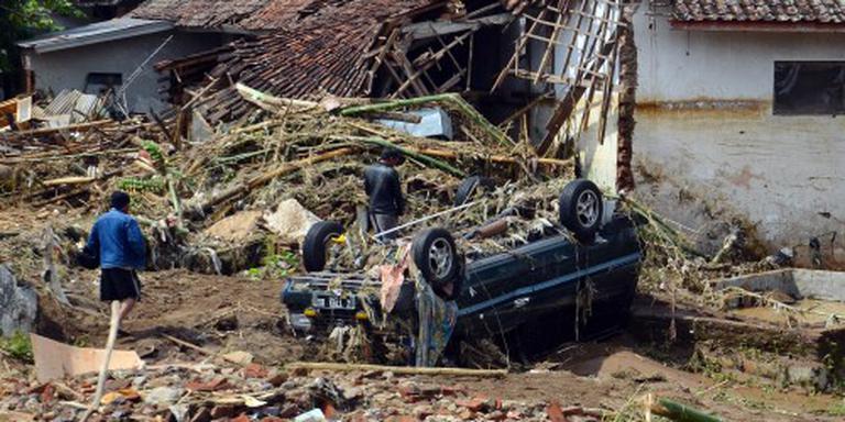 Dodental natuurgeweld Java stijgt