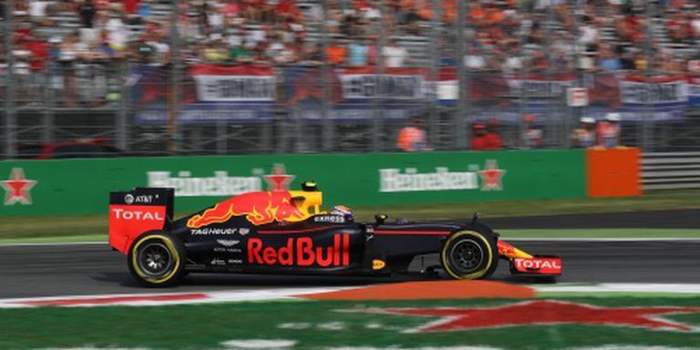 Achtste tijd Verstappen in training Monza