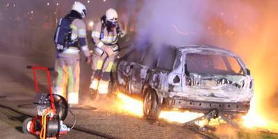 Meerdere autobranden Tilburg en Vlaardingen