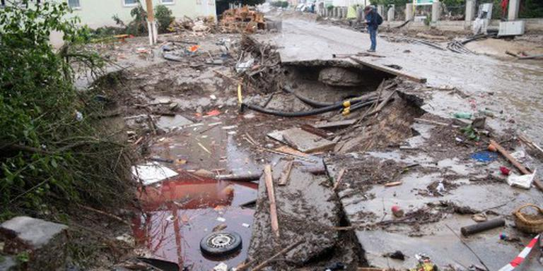 Watersnood eist levens in West-Europa