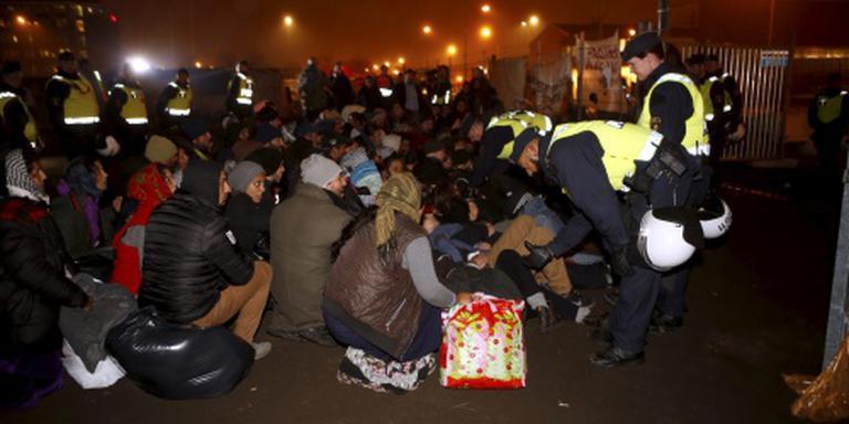 Zweden vrijgesteld van opname vluchtelingen
